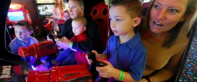 Arcade - Mulligan Family Fun Center   Palmdale, CA