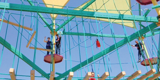 Ropes Course - Mulligan Family Fun Center | Palmdale, CA